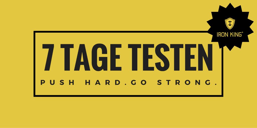 7 Tage Testen