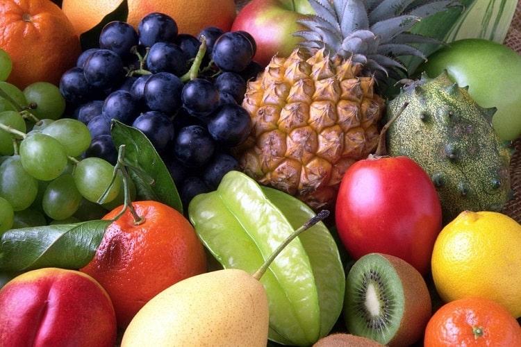paleo früchte