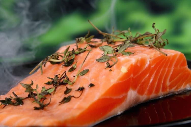 Fisch für den Muskelaufbau